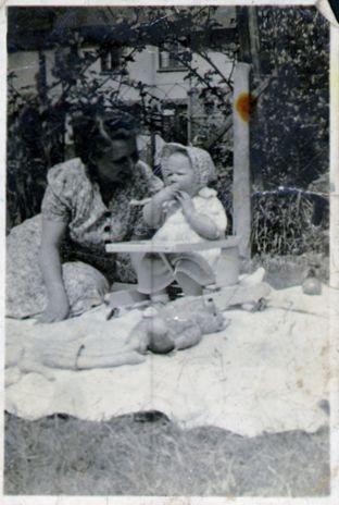Grandma with my Mum